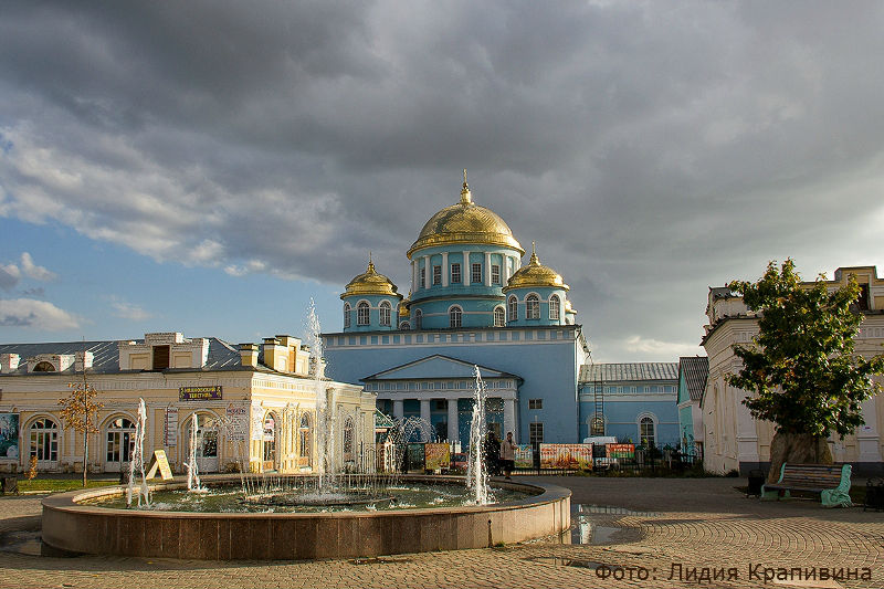 Летний вид города Лебедянь (фото: Лидия Крапивина)