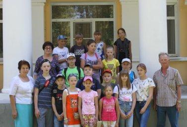 Школьники посетили «Дом Игумновых»
