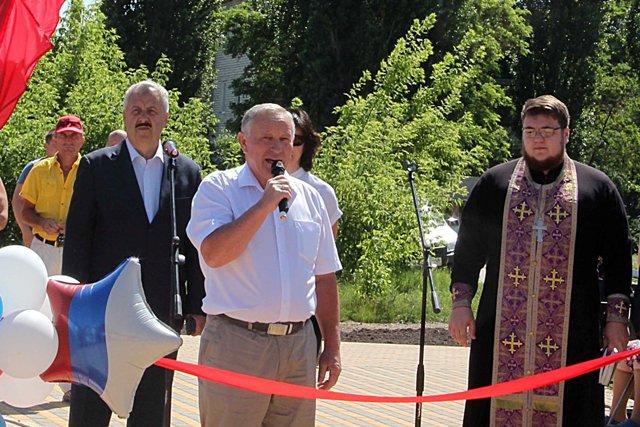 Открытие площадки в Лебедяни (13 июня 2019)
