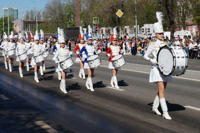 ансамбль барабанщиц катюша