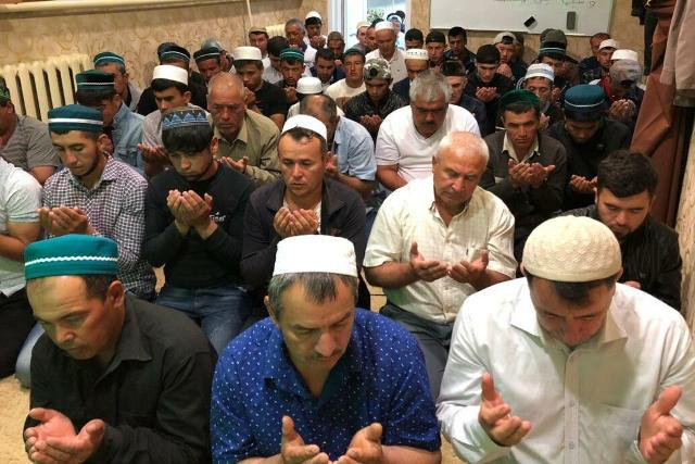 В Лебедяни мусульмане отпраздновали Ураза-байрам