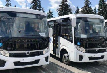 новые автобусы для Лебедяни