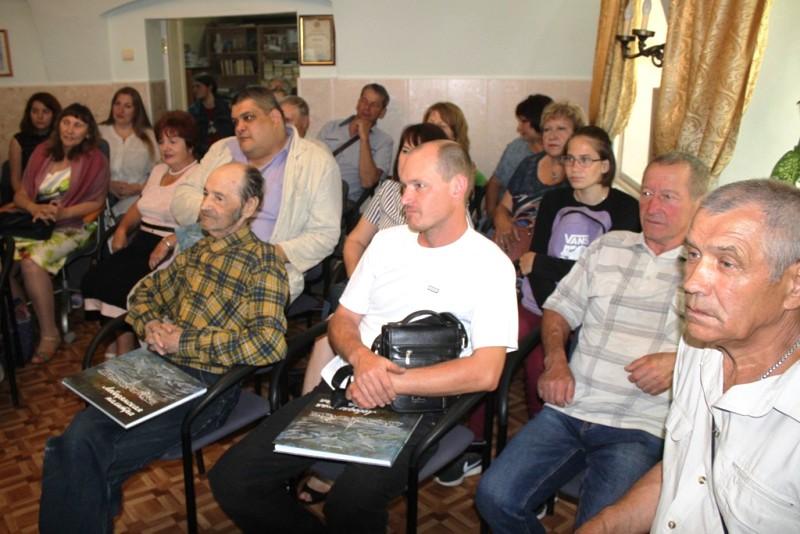 презентация книги Лебедянская палитра 15 июня 2019 года