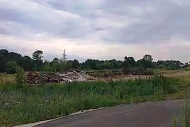 незаконная свалка в Лебедяни (июнь 2019)