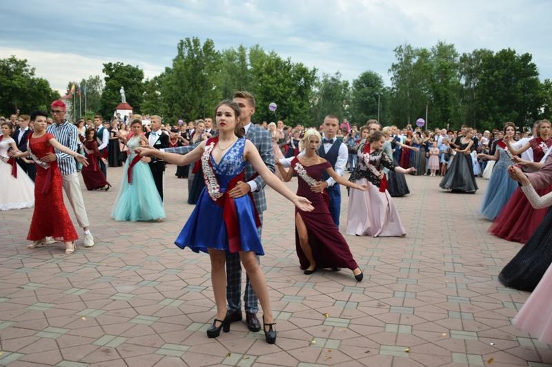 Выпускной бал 2019 в г. Лебедянь