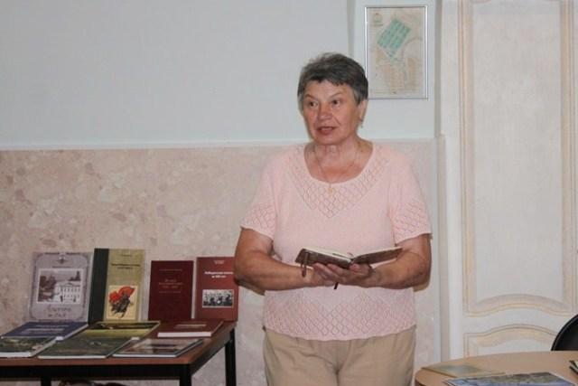 Творческая встреча с Людмилой Бахтиной