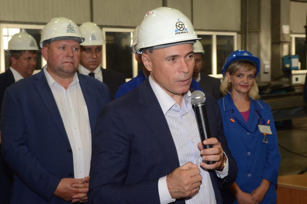 врио губернатора Игорь Артамонов побывал в Лебедяни