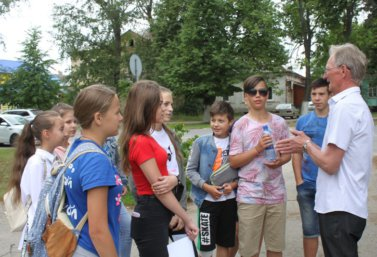 школьный квест к Дню города в Лебедяни