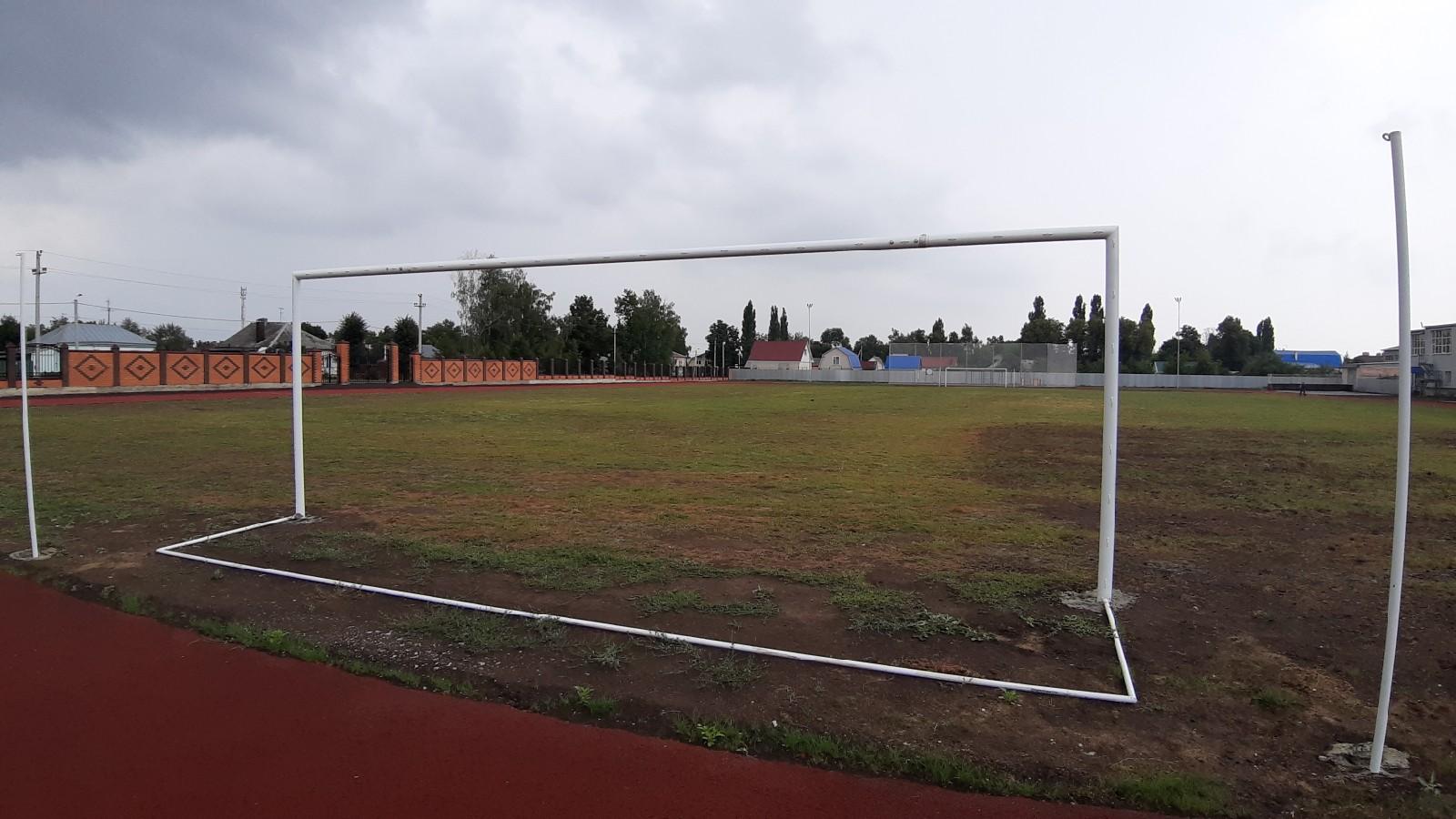 обновленный стадион в г. Лебедянь