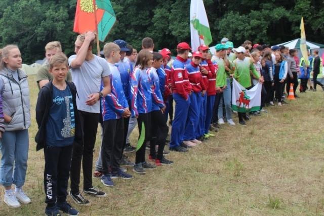 Областной турслёт в Тютчевском лесу в 2019 году