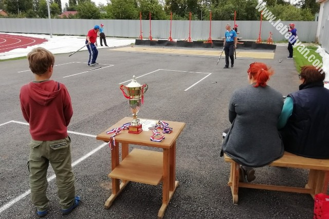 соревнования по городошному спорту в Лебедяни (10 августа 2019)