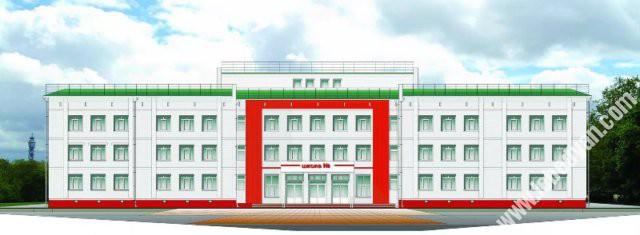 новая школа в Лебедяни (проект)