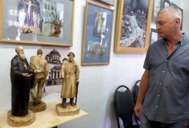 Александр Коновалов и его выставка
