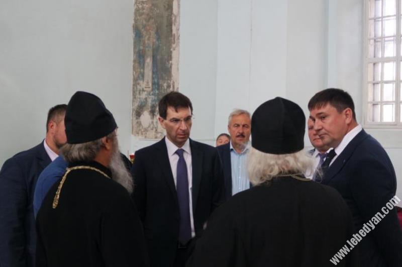 Полпред президента Игорь Щеголев побывал в селе Шовское