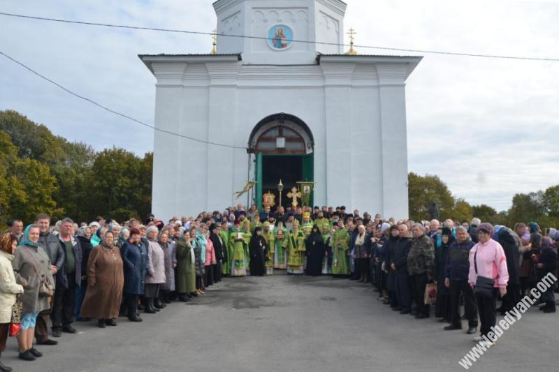 День памяти Силуана Афонского в с. Шовское 24 сентября 2019 года