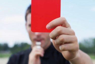 красная карточка