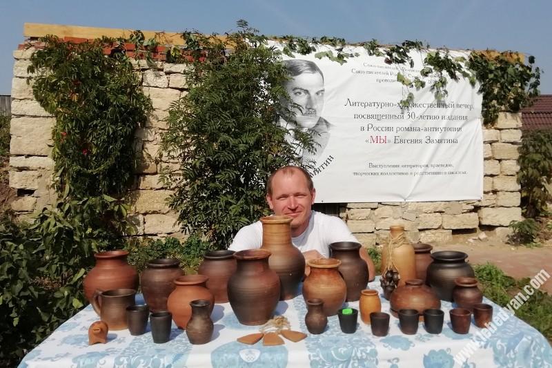 Пётр Космаков - участник праздника «Уездное лето Замятина» в Лебедяни