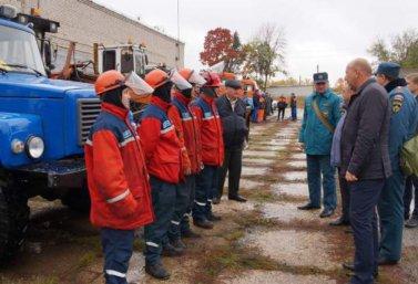 штабная тренировка ГОЧС в Лебедяни