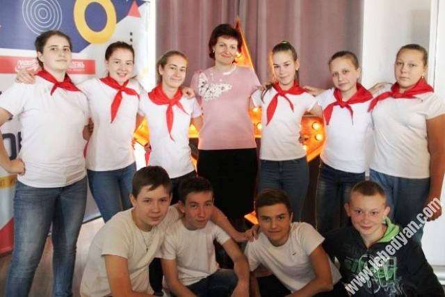 Ульяна Новик - молодой лидер из Лебедяни