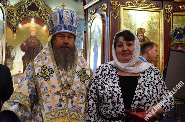 Престольный праздник в Ново-Казанском соборе Лебедяни 4 ноября 2019 года