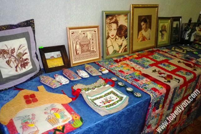 выставка Инны Сосенко в Доме ремесел