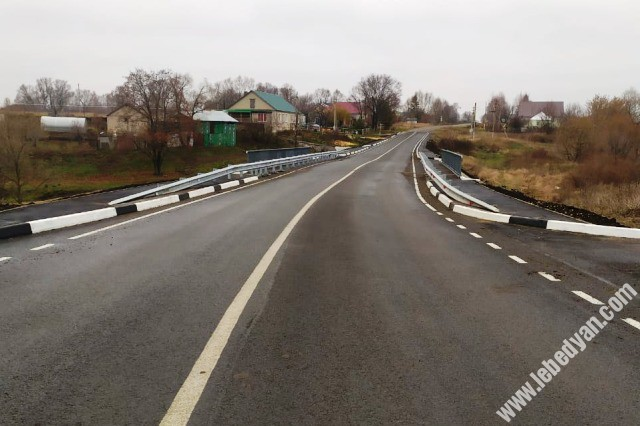 новый мост в селе Куймань