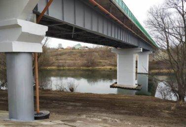 Реконструированный мост на автодороге Теплое-Красное