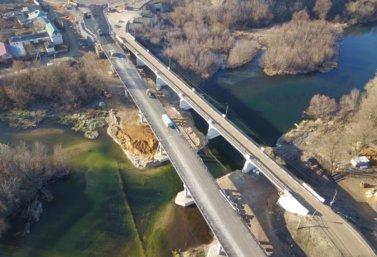 новый мост в Лебедяни (фото Е. Дьяконовой)