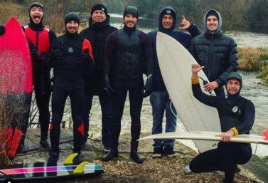 Серфинг на Дону в Лебедяни