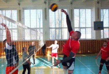 Волейбольные соревнования работников образования