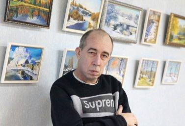 Художник Андрей Телегин открыл выставку