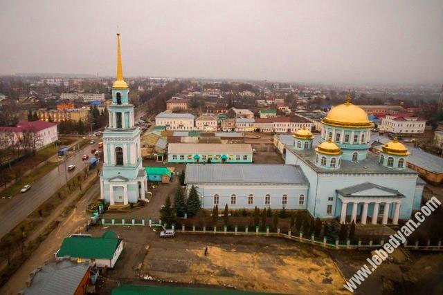 Ново-Казанский собор с высоты (В. Разумов)