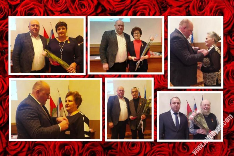 Награждение медалями Во славу Липецкой области