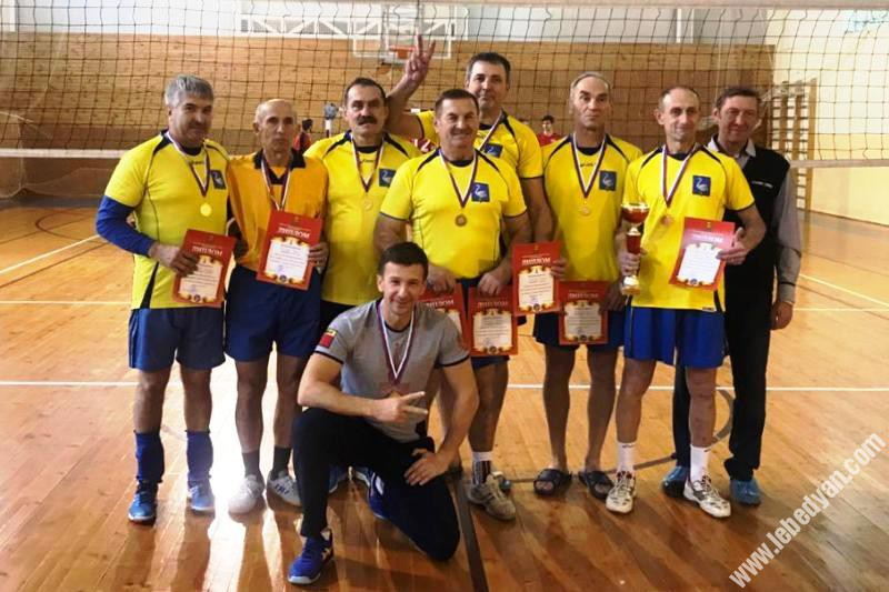 Лебедянская команда ветеранов - чемпионы первенства области 2019
