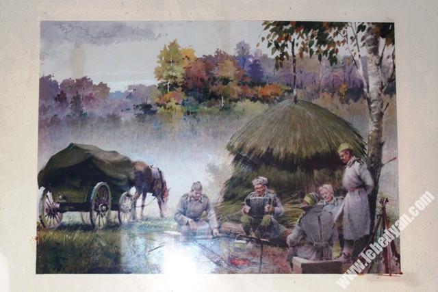 Картины Малой Третьяковки в Лебедяни
