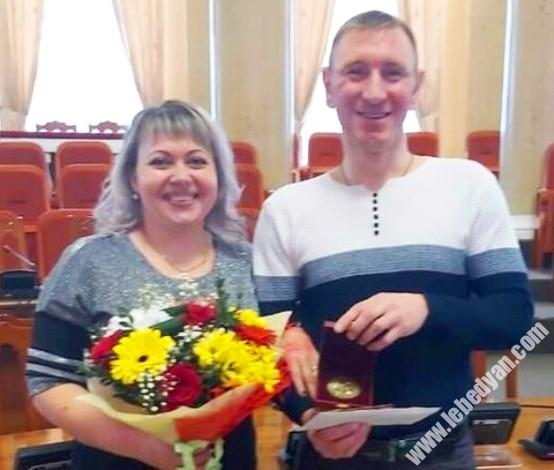 Дмитрий Кислов с женой