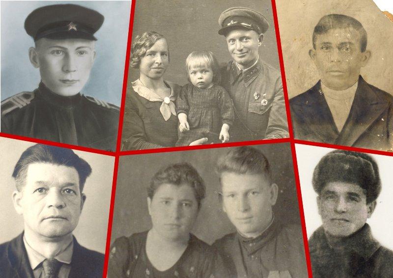 фото фронтовиков в фондах Лебедянского краеведческого музея