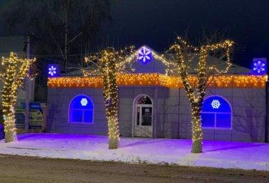 Новогоднее украшение в г. Лебедянь