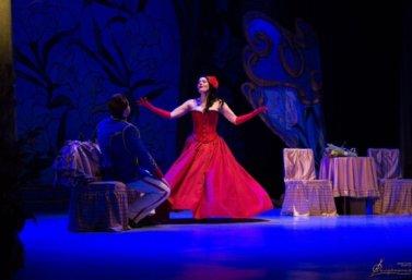 """Оперетта """"Сильва"""" на сцене в Лебедяни"""