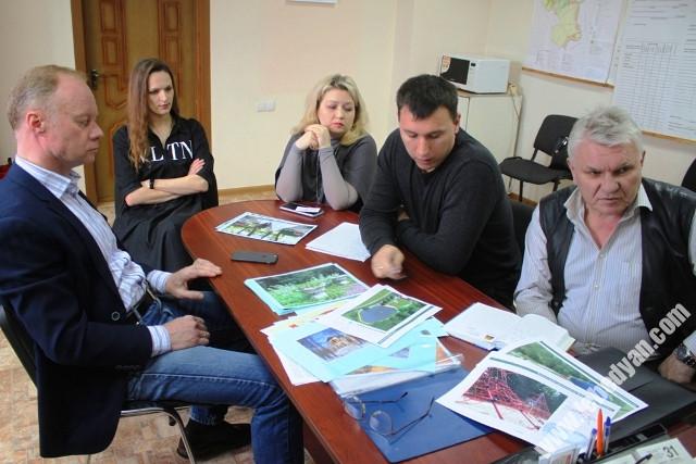 круглый стол по благоустройству парка в Троекурово