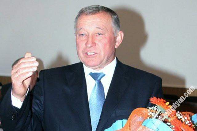 Глава города Лебедянь Алексей Хрипченко (2013)