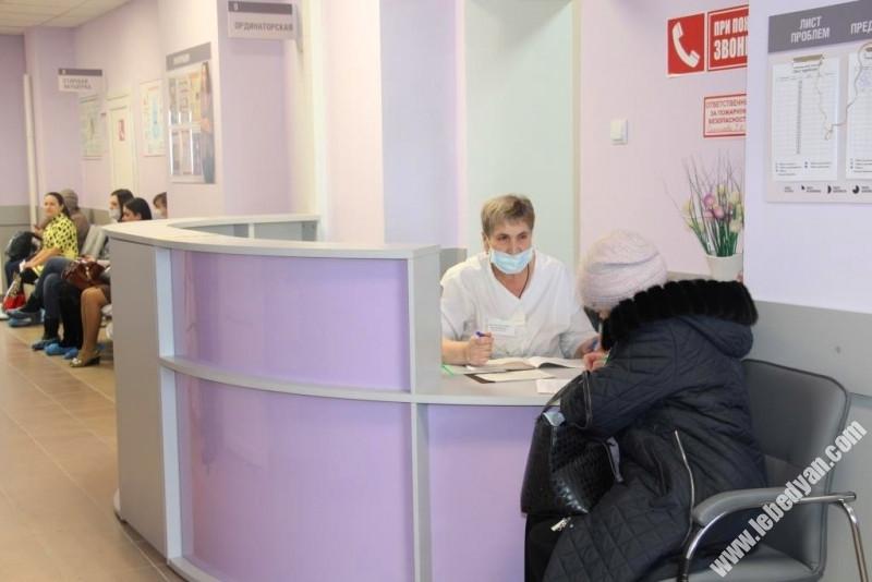 Женская консультация после реконструкции