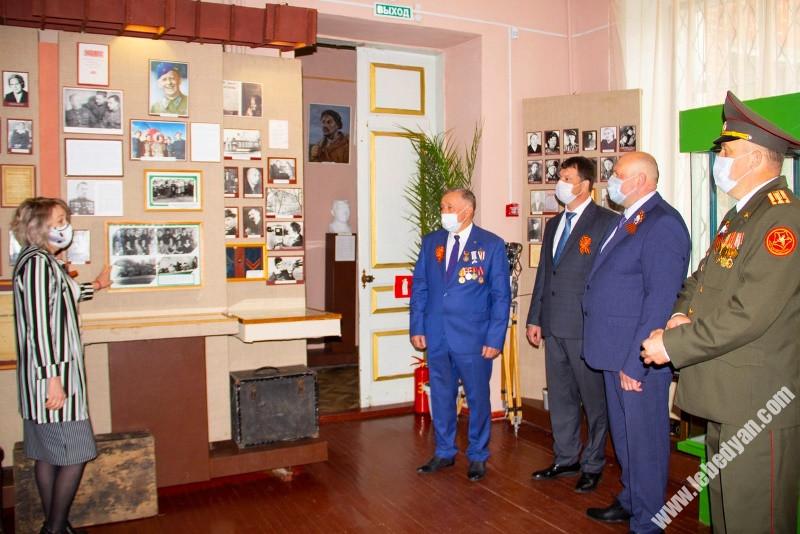 День Победы в городе Лебедянь в 2020 году
