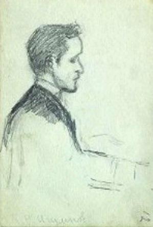Константин Игумнов (рисунок Т.Л. Толстой-Сухотиной)
