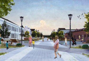 концепция благоустройства г. Лебедянь Липецкой области