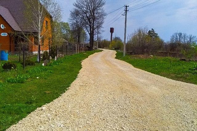 ремонт дорог в Лебедянском районе