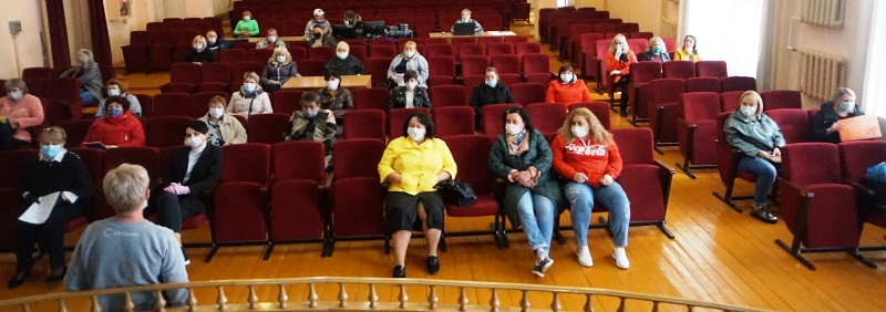 Совещание работников культуры в Лебедяни