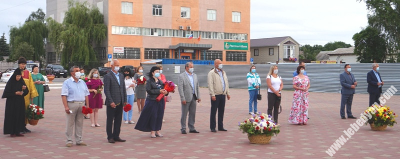 Траурный митинг 22 июня в Лебедяни