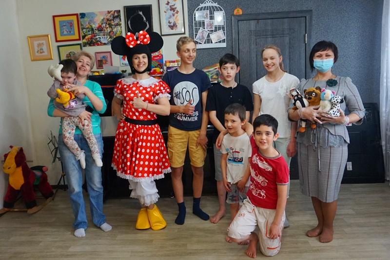 Порадовали в День защиты детей