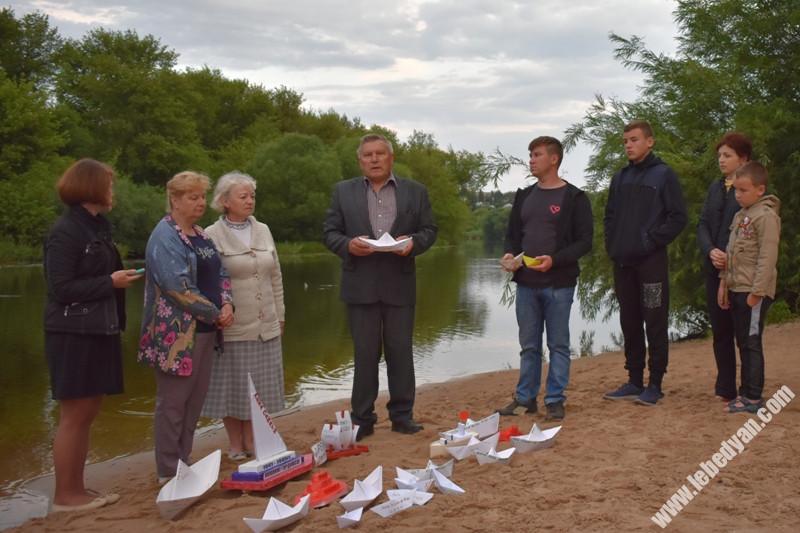 """Акция """"Река Памяти"""" в Лебедяни (2020)"""